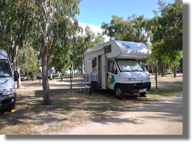 Homepage for Camping budoni